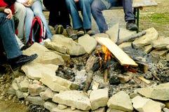 άνθρωποι φωτιών Στοκ φωτογραφία με δικαίωμα ελεύθερης χρήσης