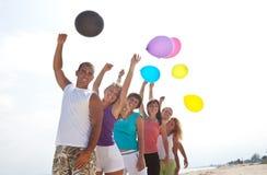 άνθρωποι φύσης μπαλονιών Στοκ φωτογραφία με δικαίωμα ελεύθερης χρήσης