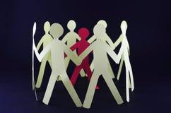 Άνθρωποι χέρι-χέρι Στοκ φωτογραφίες με δικαίωμα ελεύθερης χρήσης