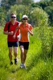 Άνθρωποι Jogging Στοκ Εικόνες