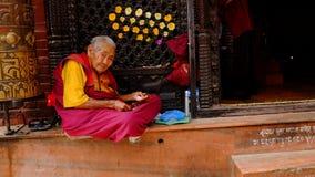 Άνθρωποι Nepali Στοκ Εικόνες