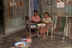 Άνθρωποι Ngada σε Wagomenge Flores Ινδονησία Στοκ φωτογραφία με δικαίωμα ελεύθερης χρήσης