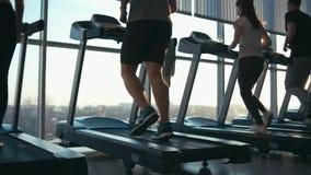 Άνθρωποι treadmills φιλμ μικρού μήκους