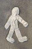άνθρωπος αριθμού Στοκ εικόνες με δικαίωμα ελεύθερης χρήσης