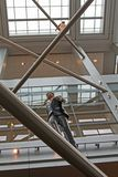Άνθρωπος-μανεκέν Στοκ φωτογραφία με δικαίωμα ελεύθερης χρήσης