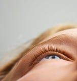 άνθρωπος ματιών Στοκ Φωτογραφία