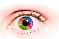 άνθρωπος ματιών στοκ εικόνα με δικαίωμα ελεύθερης χρήσης