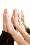 άνθρωπος χεριών από κοινού Στοκ φωτογραφία με δικαίωμα ελεύθερης χρήσης
