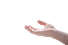 άνθρωπος χεριών Στοκ εικόνες με δικαίωμα ελεύθερης χρήσης