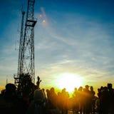 Άνοδος της ηλιοφάνειας στοκ φωτογραφία με δικαίωμα ελεύθερης χρήσης