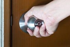άνοιγμα πορτών Στοκ φωτογραφίες με δικαίωμα ελεύθερης χρήσης