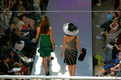 άνοιξη επιδείξεων μόδας Στοκ Φωτογραφία