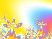 άνοιξη λουλουδιών ανασ&kap Στοκ Εικόνες