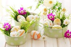 άνοιξη λουλουδιών αυγών Πάσχας στοκ φωτογραφίες με δικαίωμα ελεύθερης χρήσης