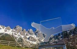 Άνοιξη στα βουνά της Αυστρίας στοκ φωτογραφίες