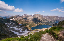 άνοιξη στα βουνά Tatra στοκ φωτογραφίες με δικαίωμα ελεύθερης χρήσης