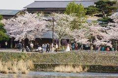 Άνοιξη στο Κιότο, Ιαπωνία Στοκ Φωτογραφίες