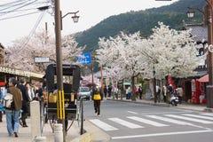 Άνοιξη στο Κιότο, Ιαπωνία Στοκ φωτογραφίες με δικαίωμα ελεύθερης χρήσης