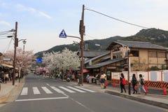 Άνοιξη στο Κιότο, Ιαπωνία Στοκ εικόνες με δικαίωμα ελεύθερης χρήσης