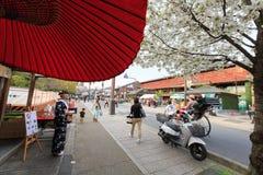 Άνοιξη στο Κιότο, Ιαπωνία Στοκ φωτογραφία με δικαίωμα ελεύθερης χρήσης
