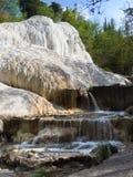 """Άνοιξη του θερμικού νερού Bagni SAN Filippo σε Val δ """"Orcia, Τοσκάνη, Ιταλία στοκ εικόνες με δικαίωμα ελεύθερης χρήσης"""