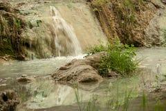 Άνοιξη του θερμικού νερού Bagni SAN Filippo στοκ εικόνα