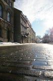 άνοιξη του Κεμπέκ πόλεων Στοκ Φωτογραφίες