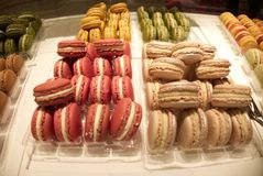 Άνοιξη Macarons στο Παρίσι Στοκ φωτογραφίες με δικαίωμα ελεύθερης χρήσης