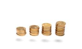 Άνοδος στηλών χρημάτων Στοκ Φωτογραφίες