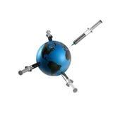 άντληση γήινου πετρελαίου διανυσματική απεικόνιση