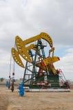 άντληση πετρελαίου Στοκ φωτογραφία με δικαίωμα ελεύθερης χρήσης