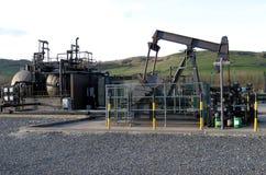 άντληση πετρελαίου Στοκ Εικόνα