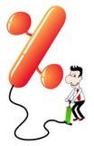 άντληση ποσοστού μπαλονι απεικόνιση αποθεμάτων