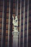 Άνω και κάτω τελεία μνημείων Το 1893 αυτό το plaza ονομάστηκε Plaza de Colon στο γ Στοκ φωτογραφία με δικαίωμα ελεύθερης χρήσης