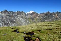Άνδεις, οροσειρά πραγματική, Βολιβία Στοκ Εικόνες