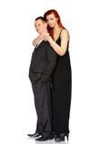 Άνδρας και γυναίκα στο στούντιο στοκ εικόνες