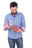 Άνδρας που ανατρέπεται νεαρός Στοκ φωτογραφία με δικαίωμα ελεύθερης χρήσης