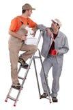Άνδρες ζωγράφοι Στοκ φωτογραφία με δικαίωμα ελεύθερης χρήσης