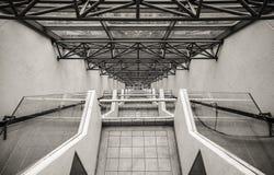 Άξονας ανελκυστήρων στην περιοχή των Φιλιππινών Tagatay Στοκ Εικόνες