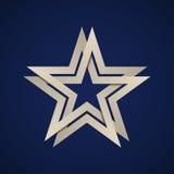 Άπειρος βρόχος αστεριών εγγράφου ελεύθερη απεικόνιση δικαιώματος