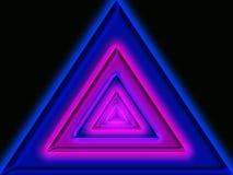 Άπειρο στο τρίγωνο Στοκ εικόνες με δικαίωμα ελεύθερης χρήσης