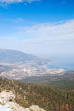 Άποψη άνοιξη Yalta Στοκ Φωτογραφίες