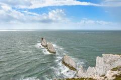 Άποψη έξω στη θάλασσα - οι βελόνες, κόλπος στυπτηριών Στοκ φωτογραφίες με δικαίωμα ελεύθερης χρήσης