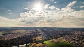 Άποψη αέρα στοκ εικόνα με δικαίωμα ελεύθερης χρήσης