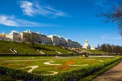 Άποψη Αγίου Πετρούπολη Ρωσία Στοκ φωτογραφία με δικαίωμα ελεύθερης χρήσης