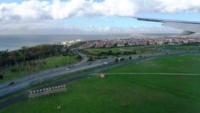 Άποψη αεροπλάνων της Γαλλίας Στοκ Εικόνες