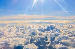 Άποψη αεροπλάνων Στοκ Εικόνες