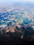 Άποψη αεροπλάνων Στοκ εικόνες με δικαίωμα ελεύθερης χρήσης