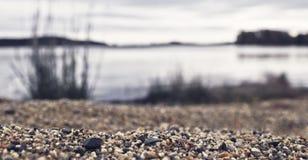 Άποψη αμμοχάλικου Στοκ φωτογραφίες με δικαίωμα ελεύθερης χρήσης