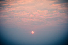 Άποψη ανατολής σχετικά με την κορυφή υψώματος Στοκ φωτογραφία με δικαίωμα ελεύθερης χρήσης